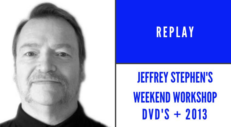 Jeffrey Stephens Weekend Workshop DVD + 2013