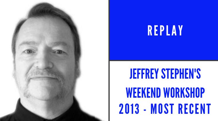 Jeffrey Stephens Weekend Workshop Belgium 2013