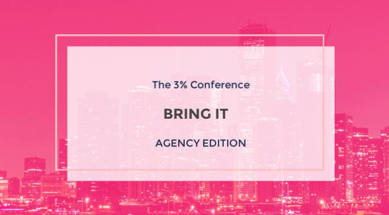 3% Academy - Bring It  - Agency Edition