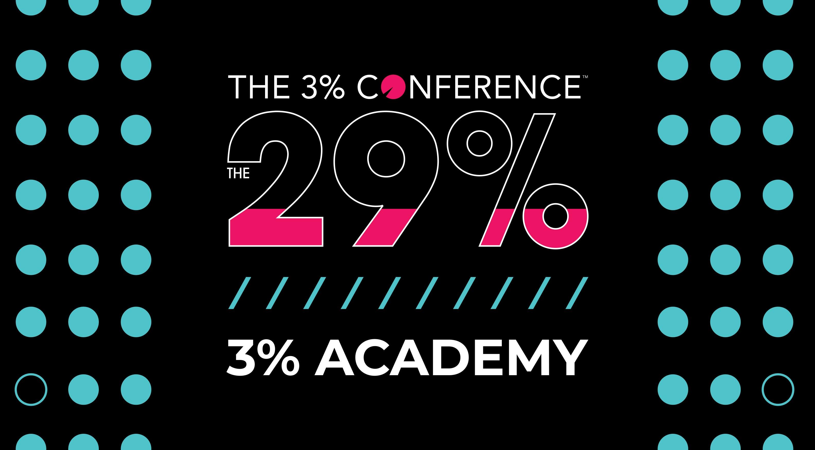 3% Academy - The 29%  Agency Edition