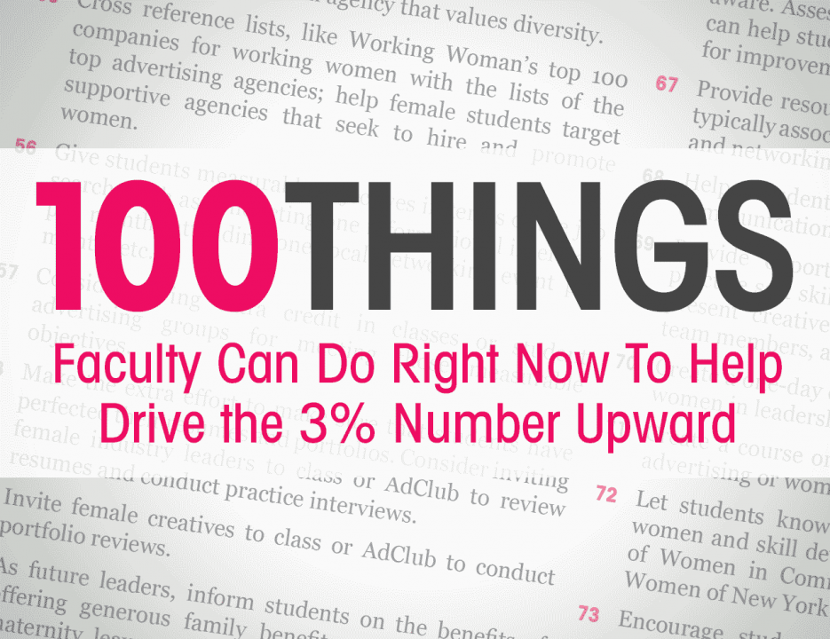 100 Things Faculty Can Do Right Now