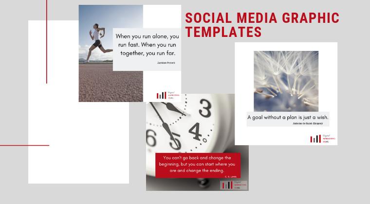 Social Media Graphic Templates