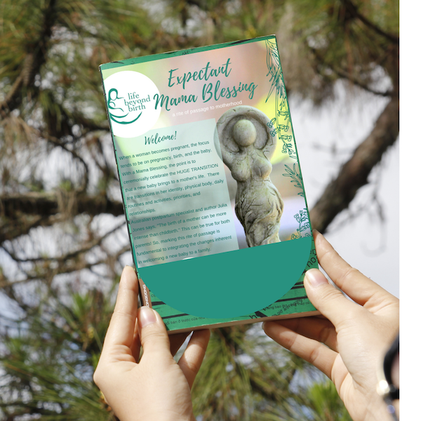Mama Blessing Guide: Create a Sweet and Meaningful Ritual for an Expectant Mama!