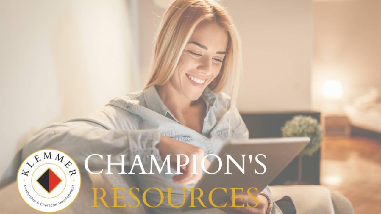 Champion's Resources eCourse