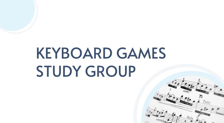 Keyboard Games Study Group