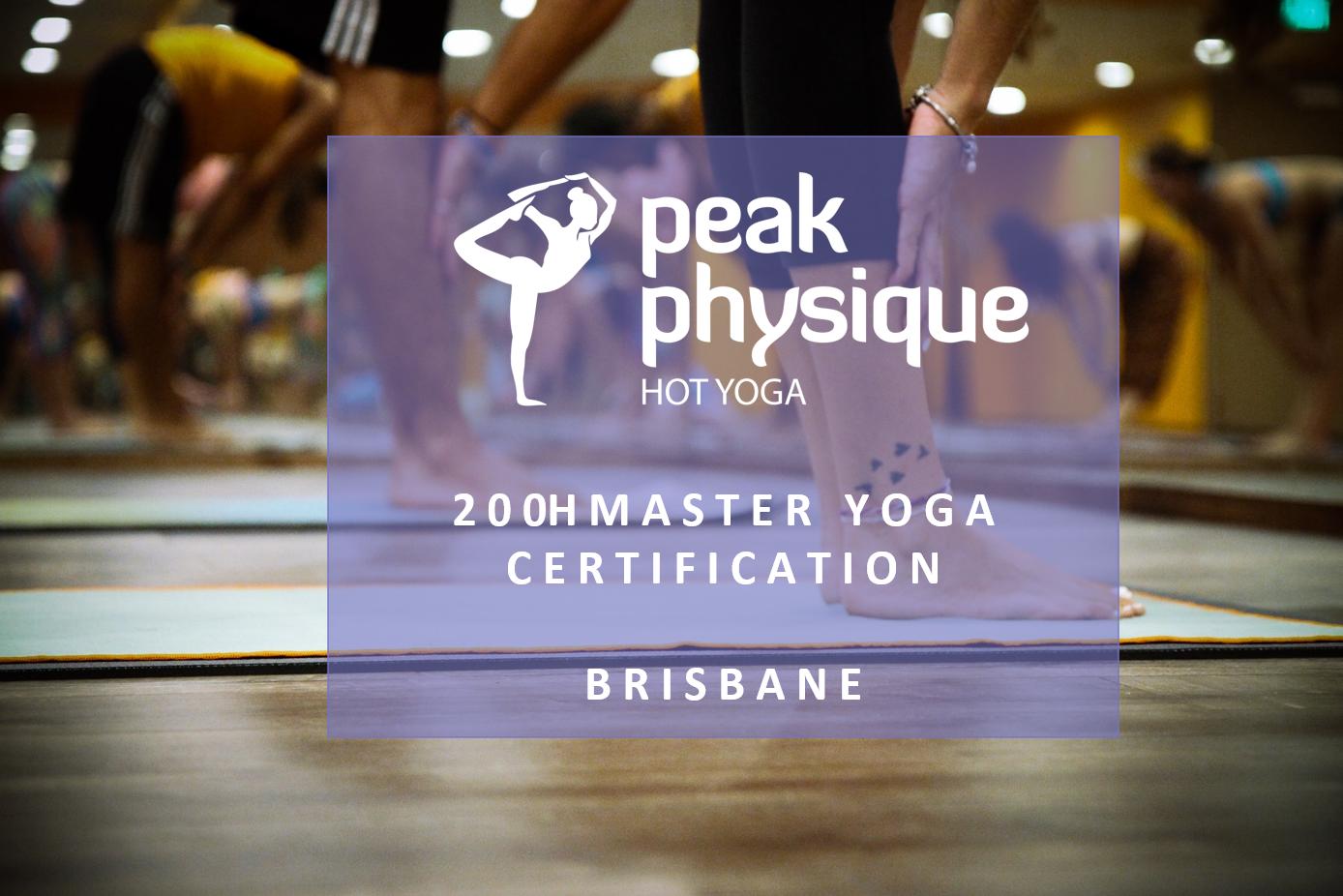 200h Master Yoga Certification Training Brisbane April/May