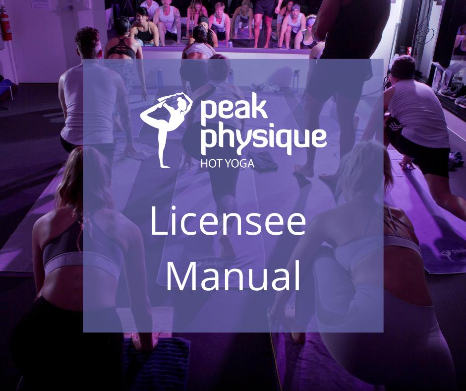 License - Operation Manual
