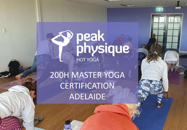 200h Master Yoga Certification Training Adelaide