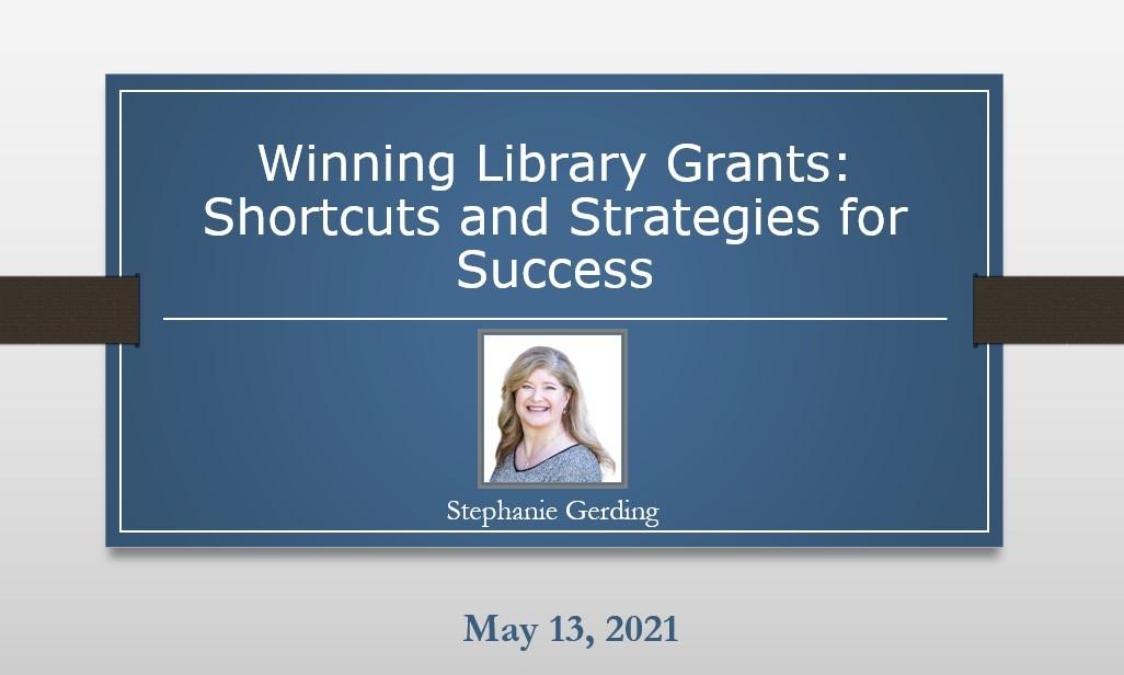 Winning Library Grants Webinar