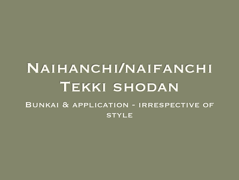 Naihanchi