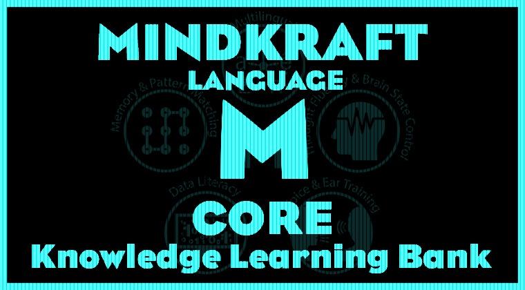 MINDKRAFT Language - Core Knowledge Bank