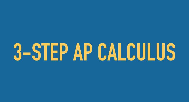 3-STEP AP Calculus