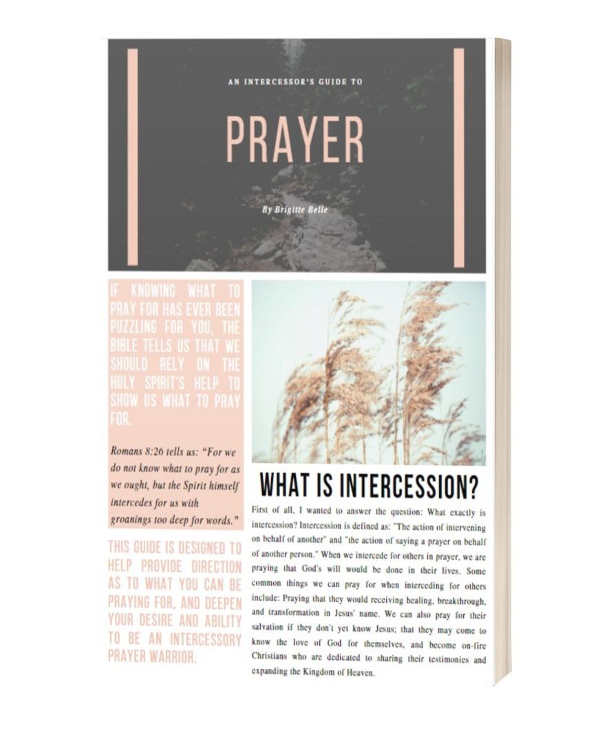 An Intercessor's Quick Guide to Prayer