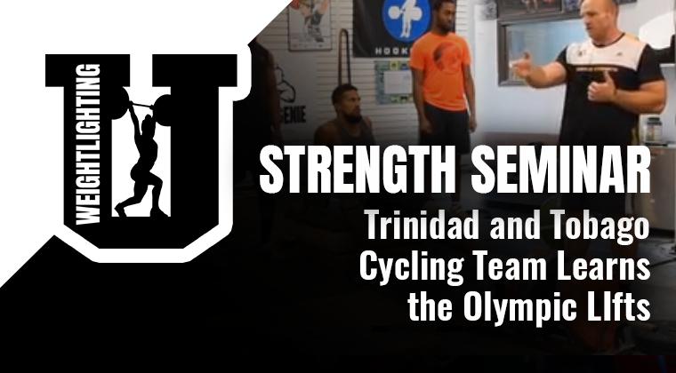 Live Seminar Playback: Strength Seminar with Trinidad and Tobago Cycling