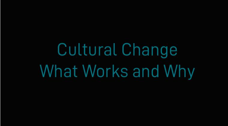 Cultural Change Bundle