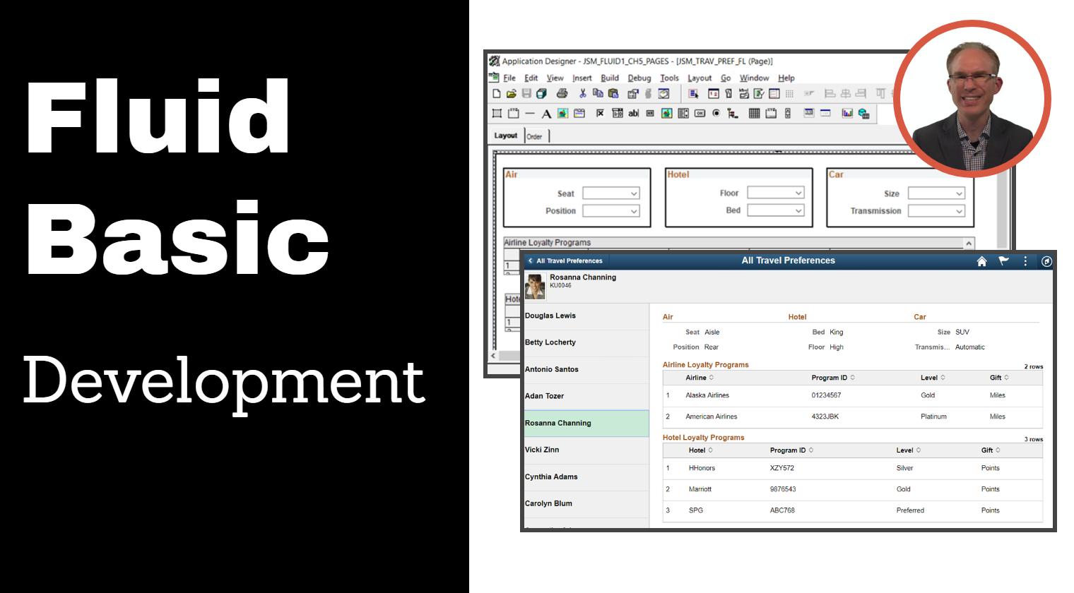 PeopleSoft Fluid Basic Development