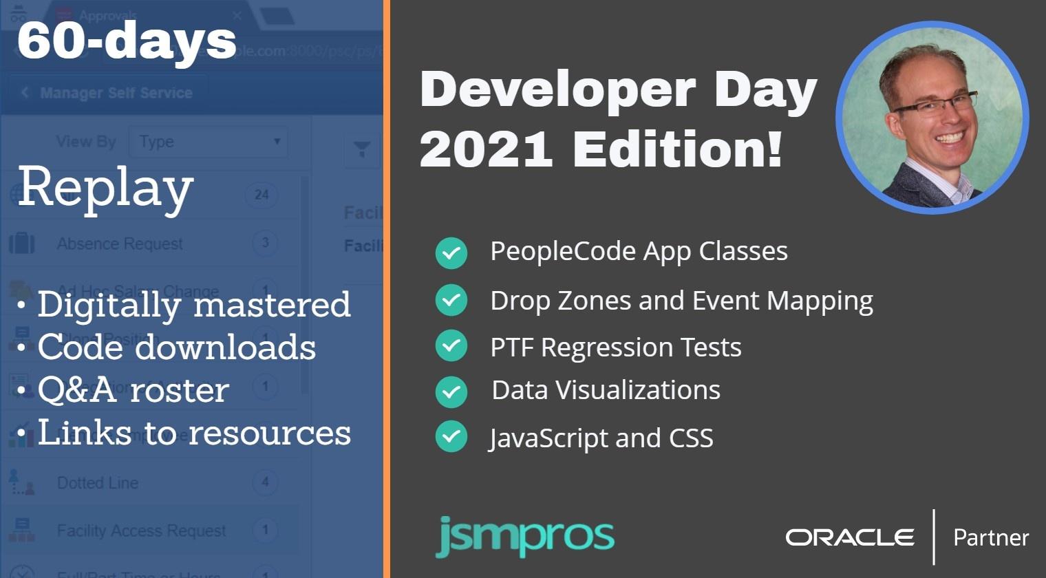 Developer Day 2021 60-day Replay