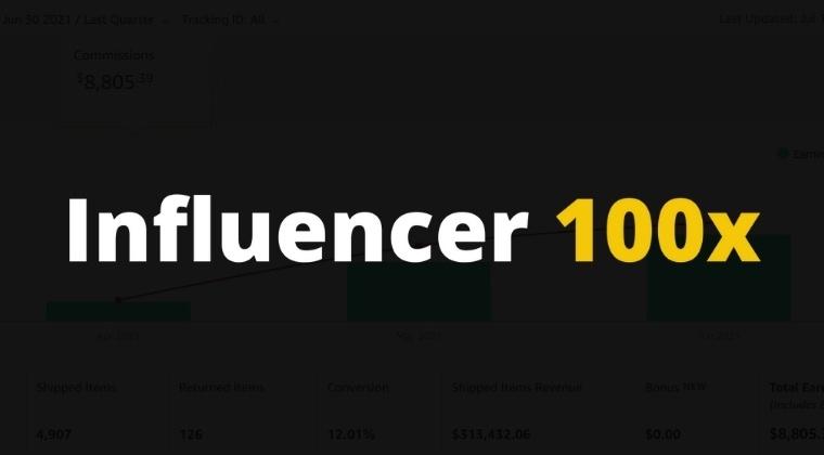 Influencer 100x