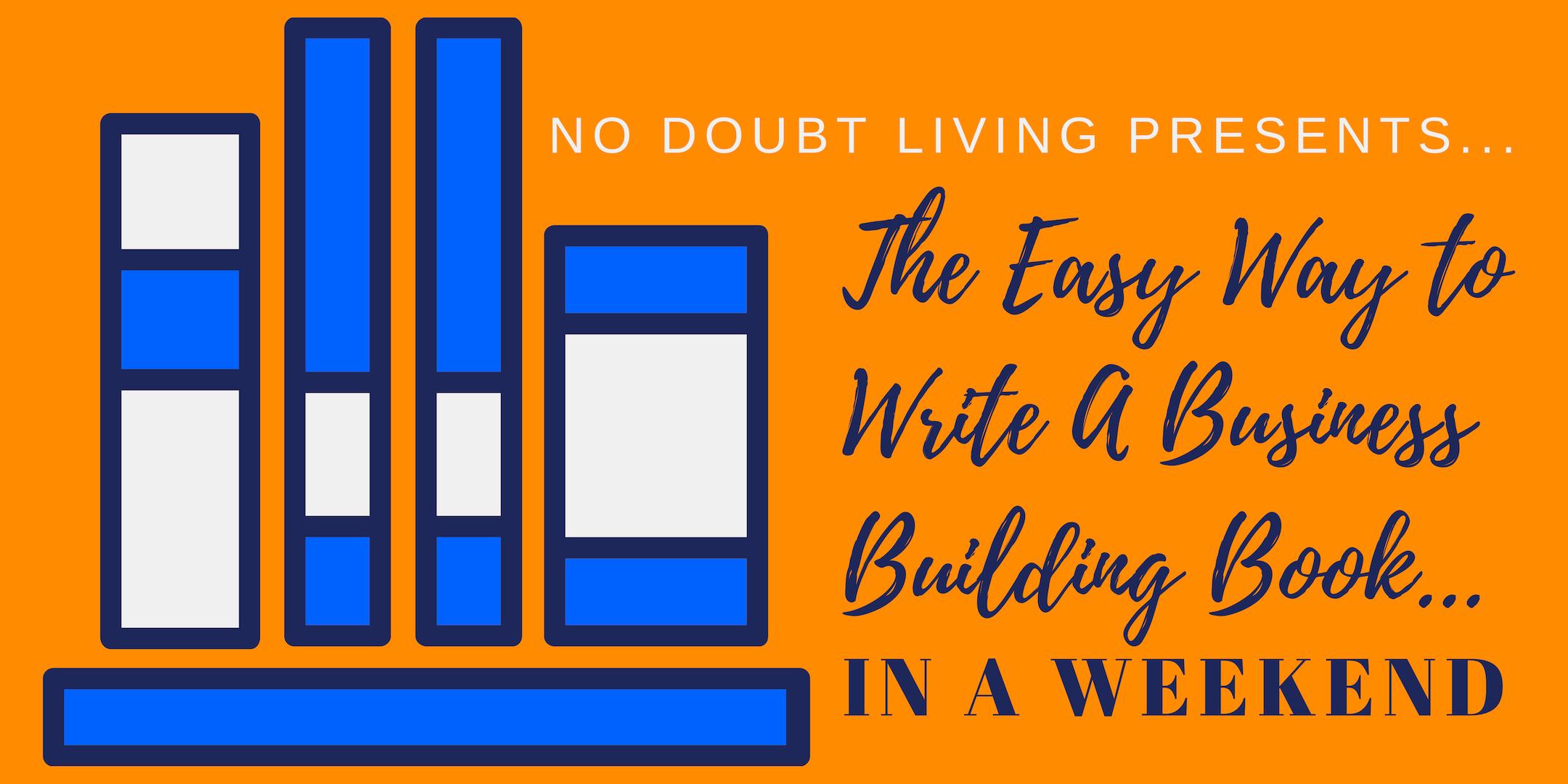 Easy Way Book Writing mini-course