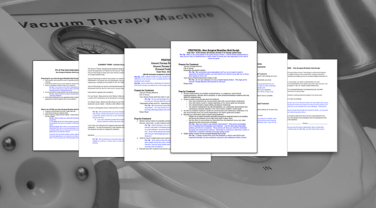 Vacuum Therapy 4 in 1 Document Package