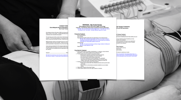 ElectroMagnetic Muscle Stimulation Document Package