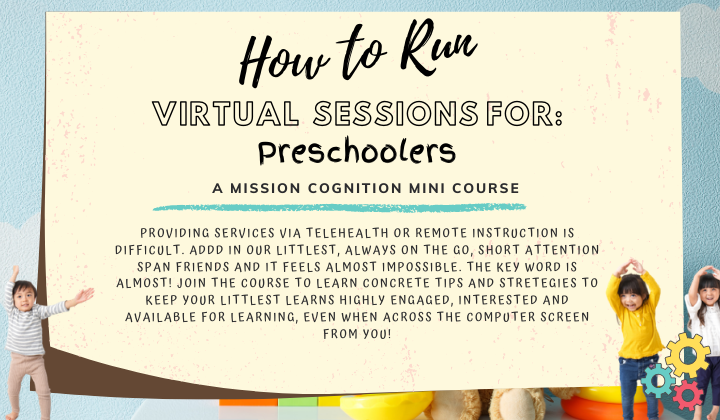 Virtual Instruction for Preschoolers (Tutorial for Professionals)