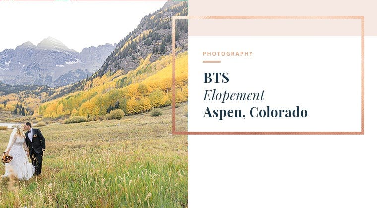 BTS - Elopement Aspen, Colorado