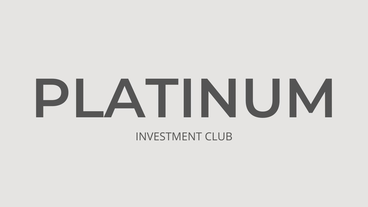 Investment Club PLATINUM