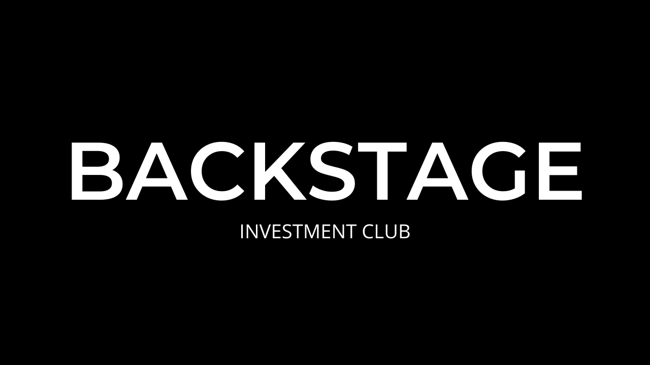 Investment Club Backstage