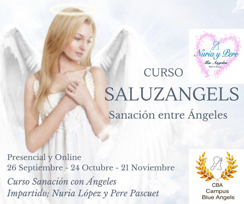 Curso de Sanación con angeles - Saluzangels