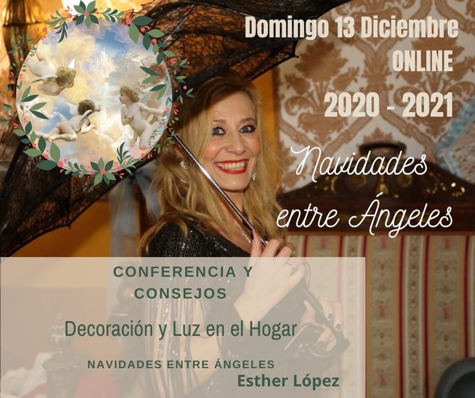 Esther López.  Angelóloga y Terapias marinas