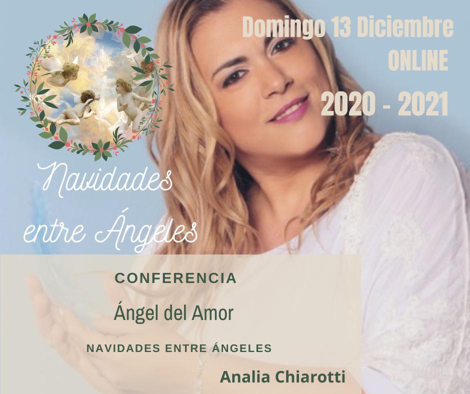 Angelóloga y terapeuta Analia Chiarotti