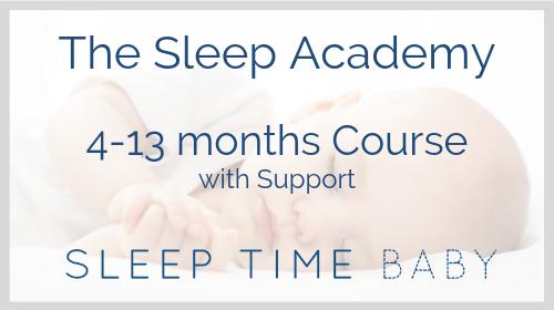 The Sleep Academy  4-13 Months