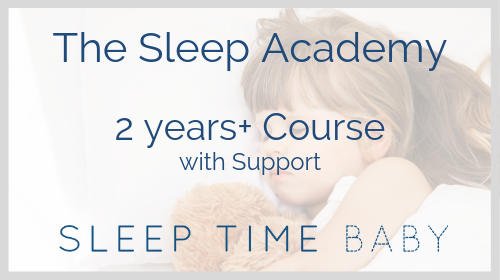 The Sleep Academy - Older Children 2Yrs+