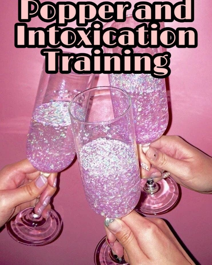 Popper and Intoxication Course