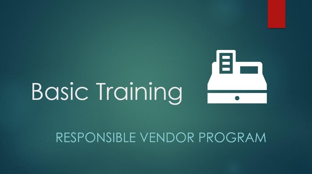 Responsible Vendor Program