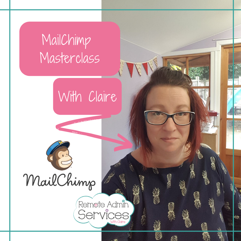 MailChimp Masterclass with Claire