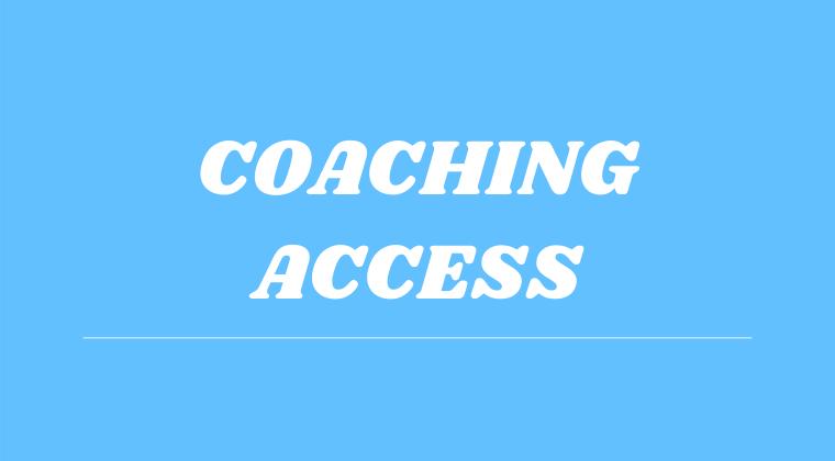 Coaching Access