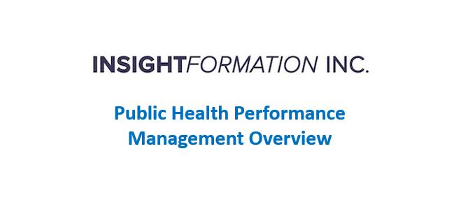 Public Health Performance Management Overview