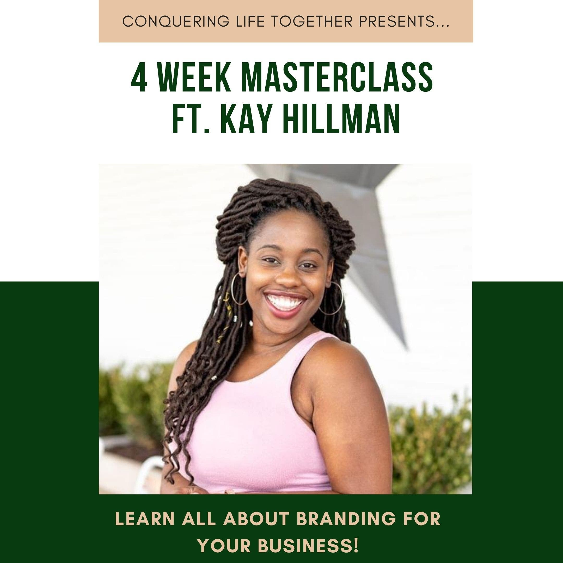 Conquering Life Together-Marketing on Social Media w/ Kay Hillman