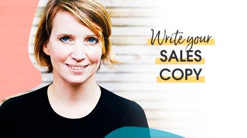 Write your sales copy