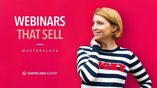 Build webinars that sell