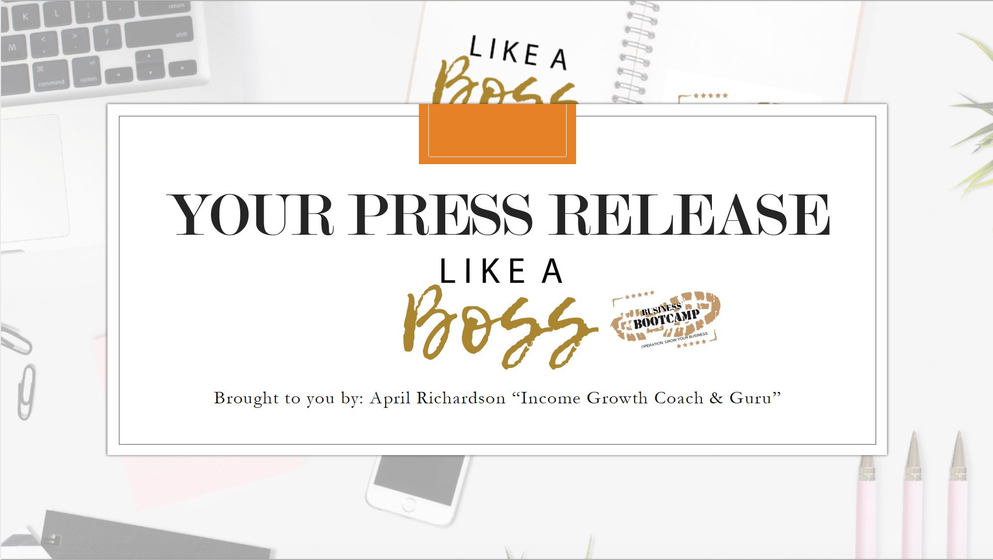 Create Your Press Release