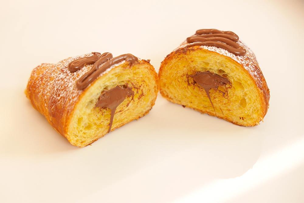 Croissant sfogliato alla francese