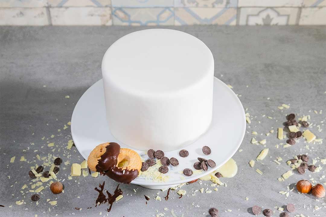 La giusta copertura di una torta vera