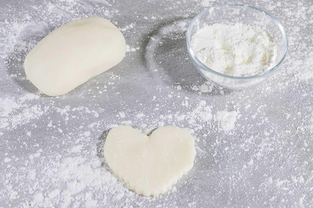 La ricetta della pasta da modellaggio