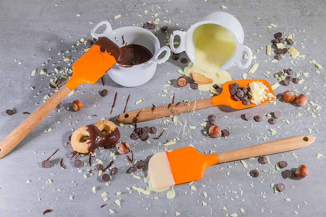 Le farciture - Ganache da riempimento al cioccolato bianco e fondente