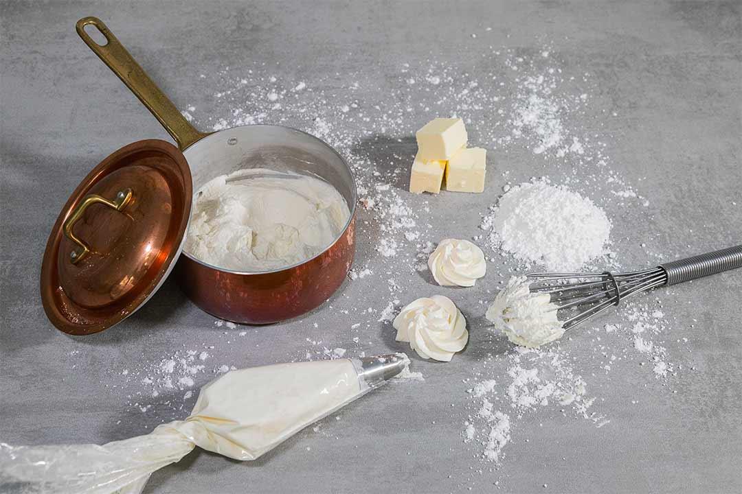 Meringue butter cream