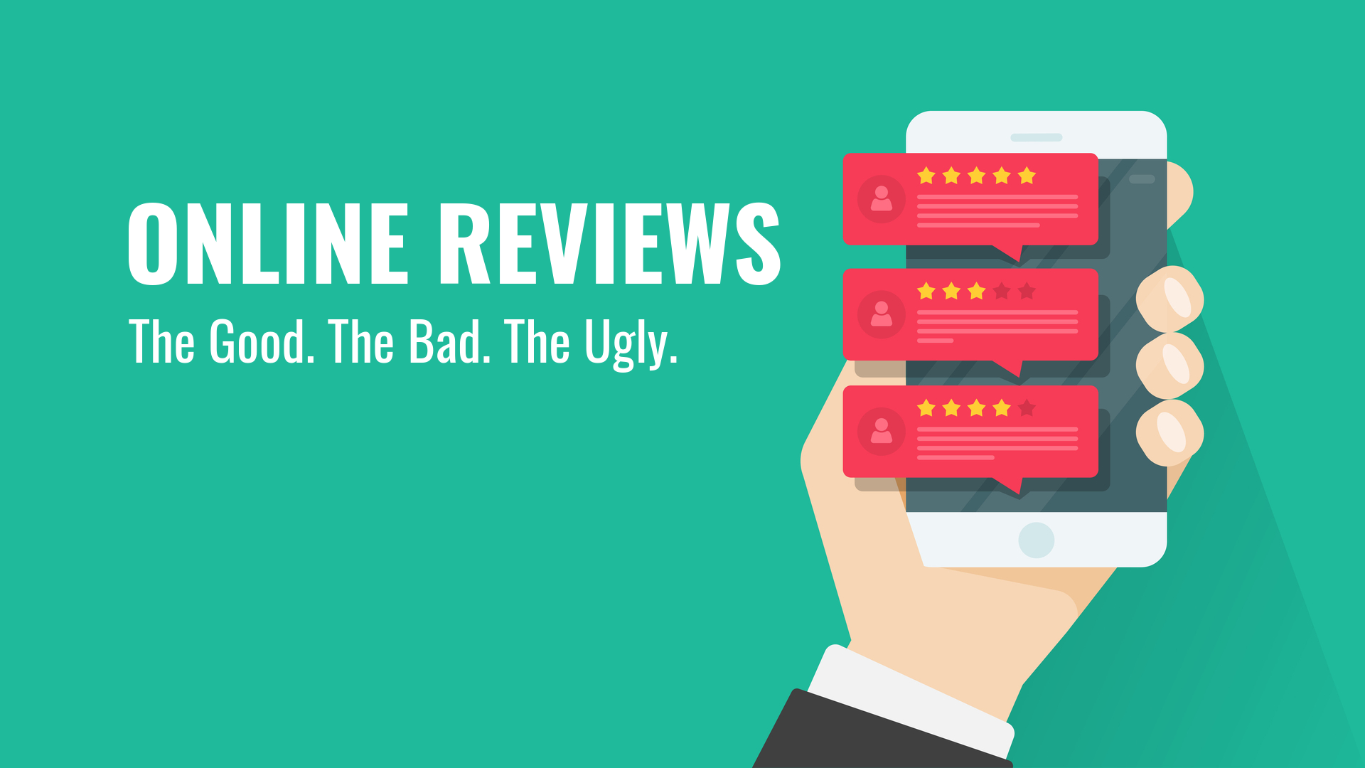 Online Reviews: The Good, The Bad, The Ugly
