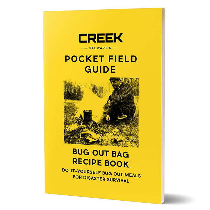BONUS # 3: BUG OUT BAG RECIPE BOOK